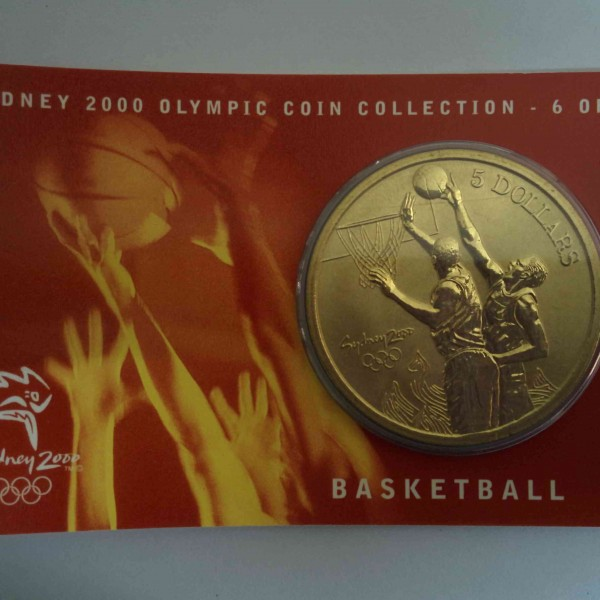 2000 Sydney Olympics Basketball @ coinstamp.in