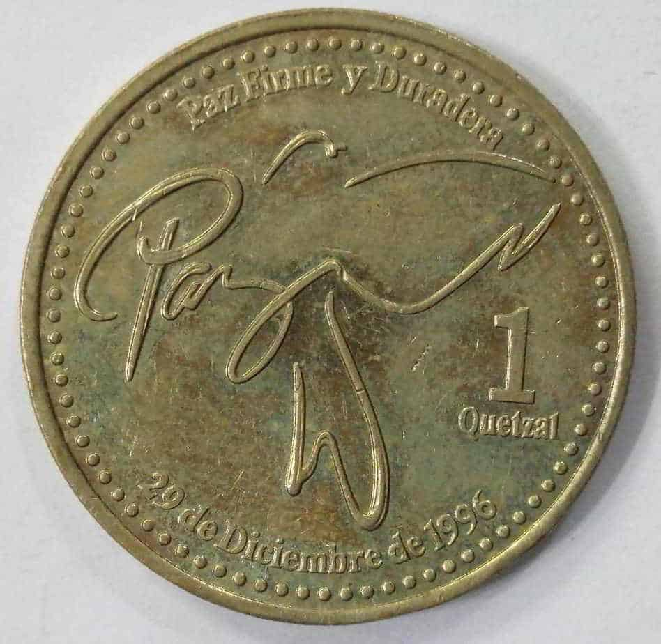coin of guatemala