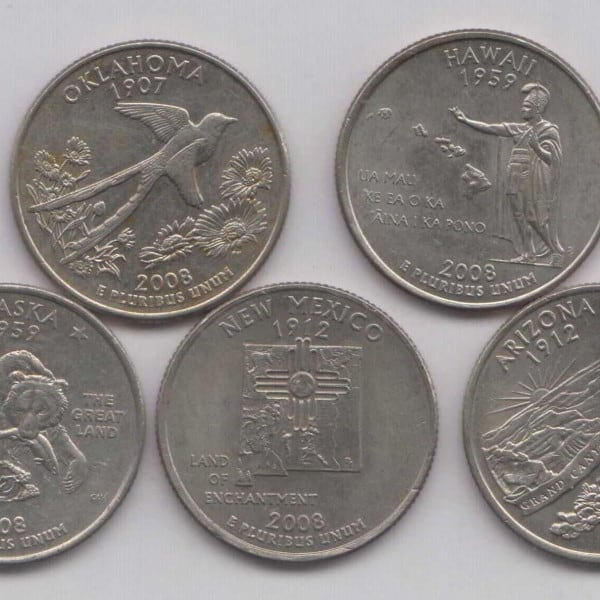 2008 State Quarters Of United States Of America Www