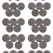 U.S.A QUARTER DOLLAR 50 COIN FULL SET @ Coins and Stamps