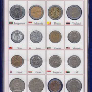 Asia Coins 16 Different Countries @ coinstamp.in1