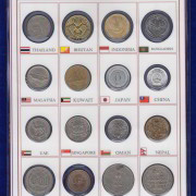 Asia Coins 16 Different Countries @ coinstamp.in2