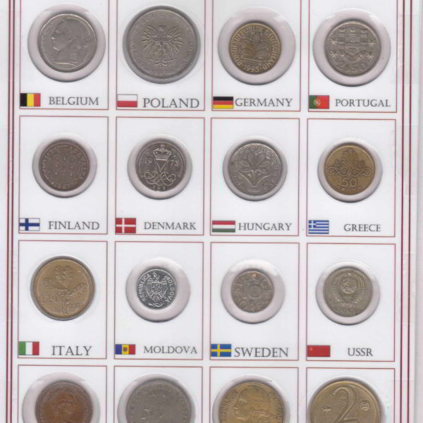 Europe 16 Different Counties includes old countries @ coinstamp.in