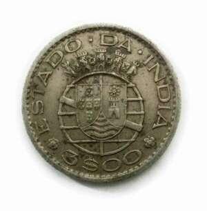 Portuguese India Coins | Old Indian Coins | 3 Escudos