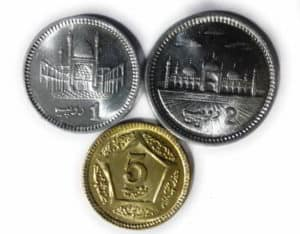 Pakistan Coins 3 Different - www.coinstamp.in