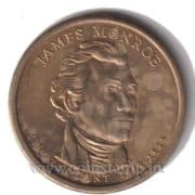 US Presidential Dollar James Monroe @ Coins and Stamps
