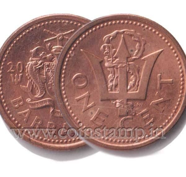 Barbados Cent 1992 to 2007