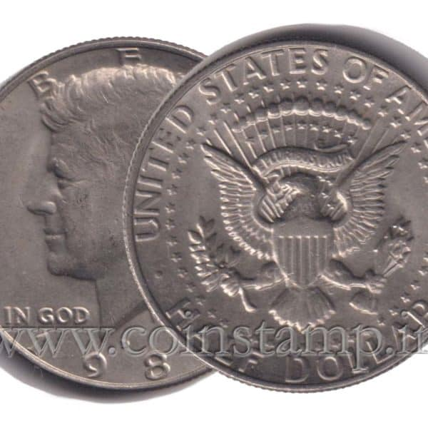 US Half Dollar Kennedy @ Coins & Stamps