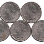 US Quarters America the Beautiful Quarters 2015 Full Set @ Coins & Stamps