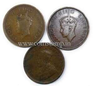 Quarter Anna, King George V, Quarter Anna King George 6