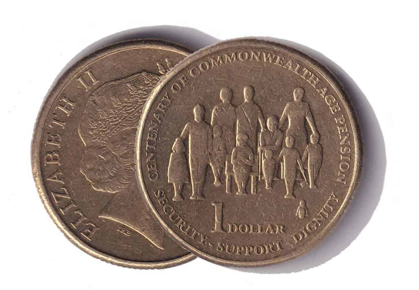 Australia 1 dollar APEC 2007 Queen Asian UNC