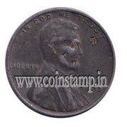 US Wheat One Cent 1943 Zinc Coated Steel @ www.coinstamp.in