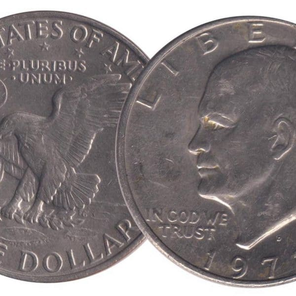 United States of America Eisenhower Dollar @ Coins and Stamps
