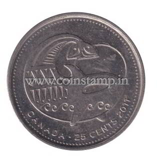 Canada 25 Cents Canada's Legendary Nature Orca @ coins and stamps
