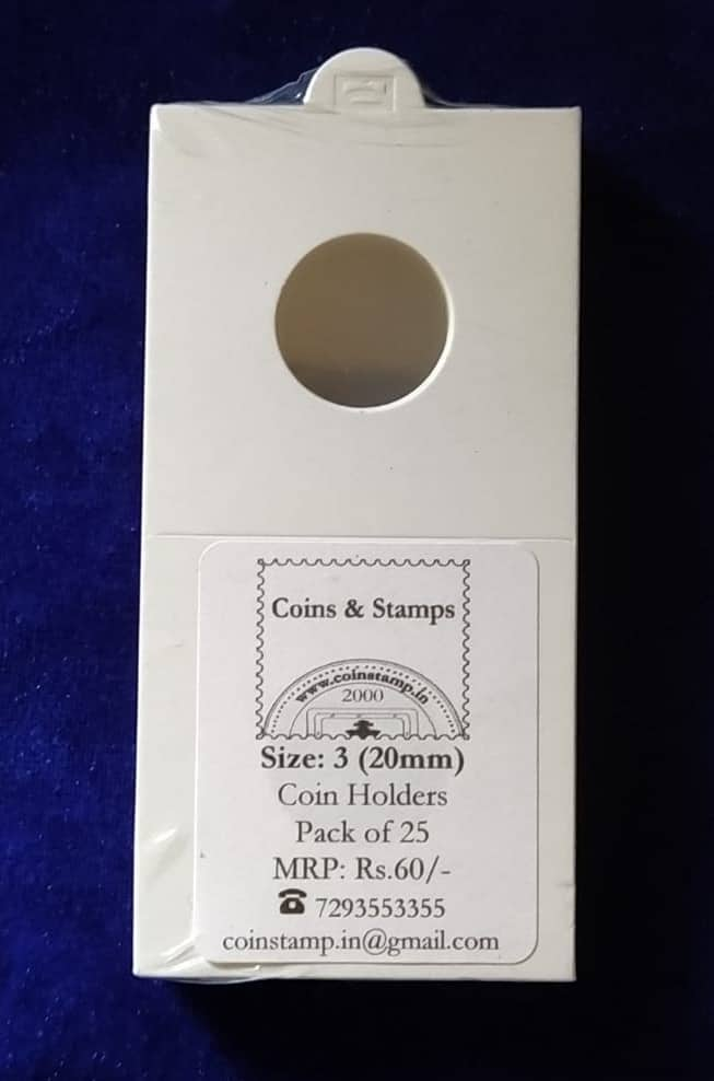 Coin Holders Size 3 20mm @ Coins and Stamps